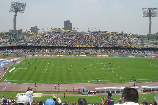 Pumas vs Celaya Match 3 of Copa MX 2013