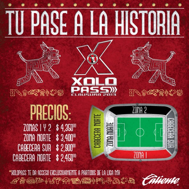 Xolos Tijuana announce new XoloPass prices for the Clausura 2013