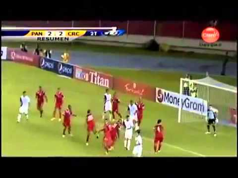 Panama vs Costa Rica 2-2 – February 6, 2013 highlights