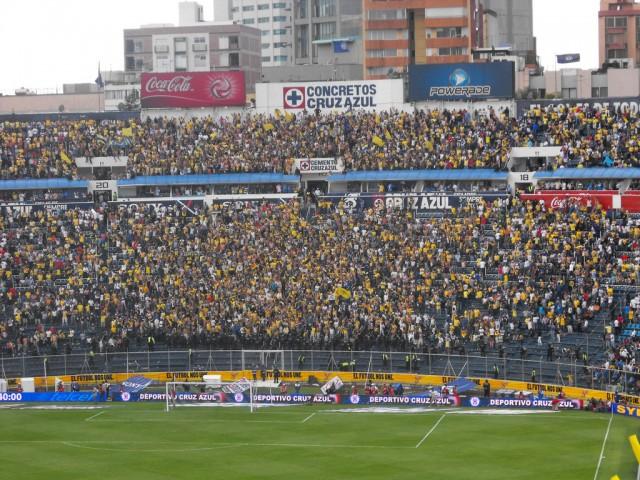 America vs Cruz Azul Estadio Azul
