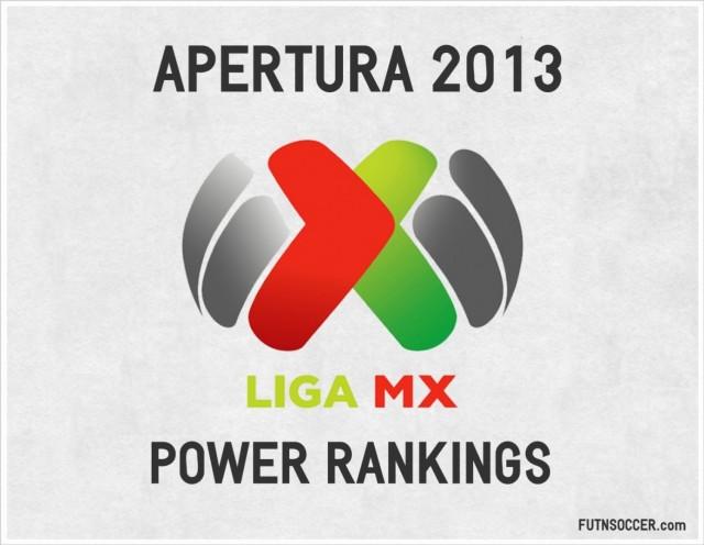 Liga MX Power Rankings Apertura 2013