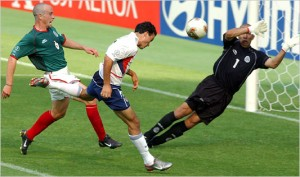 The USA 2002 World Cup win marked a change in tactics vs Mexico.