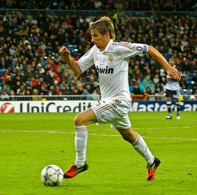 Fabio Coentrao Real Madrid Manchester United