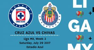 Cruz Azul vs Chivas 2017