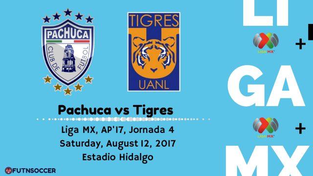 Pachuca vs Tigres 2017