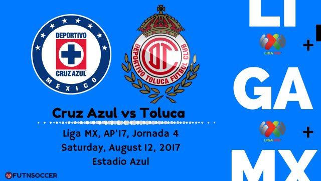 Cruz Azul vs Toluca 2017
