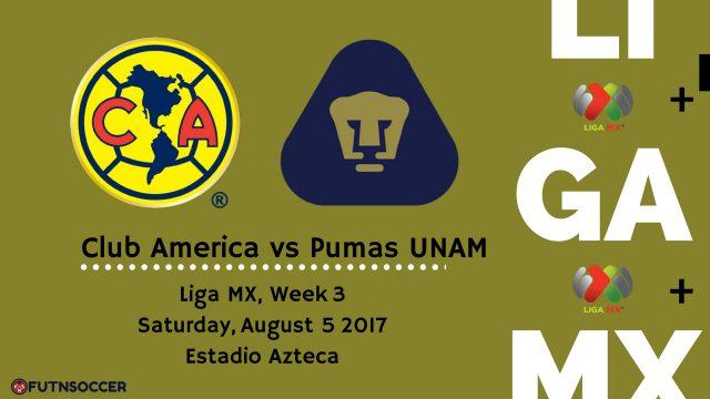 America vs Pumas 2017