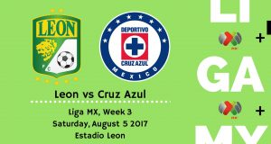 Leon vs Cruz Azul 2017