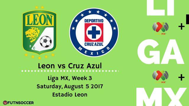 Leon vs Cruz Azul 2017