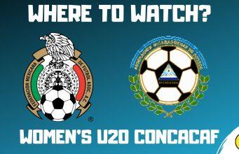 Mexico U20 vs Nicaragua U20 Women's CONCACAF U-20