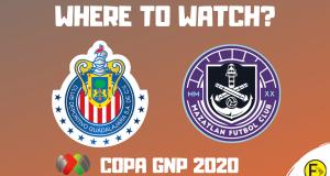 Chivas vs Mazatlan Copa GNP 2020
