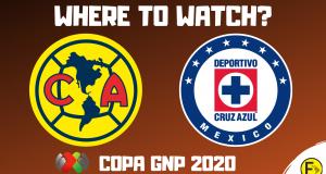 Club America vs Cruz Azul Copa GNP 2020