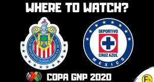 Chivas vs Cruz Azul Copa GNP 2020 Final