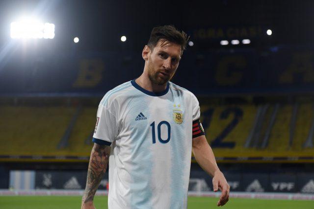 Messi Argetina 2020