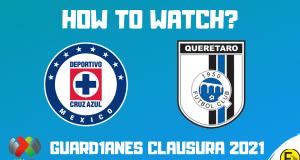 Cruz Azul vs Queretaro Liga MX