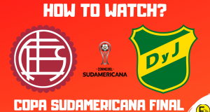Lanus vs Defensa y Justicia- Copa Sudamericana Final
